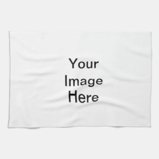 Add your own images! hand towel