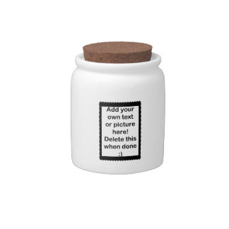 Add Your Own logo Candy Jars