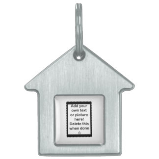 Add Your Own logo Pet ID Tag