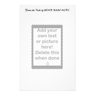 Add Your Own logo Stationery
