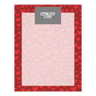 Add Your Own Pattern & Photo Letterhead
