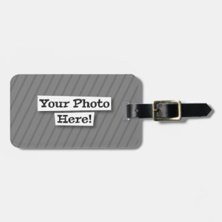 Add Your Own Pattern & Photo Bag Tags
