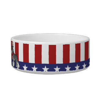 Add Your Own Pet and Flag Bowl
