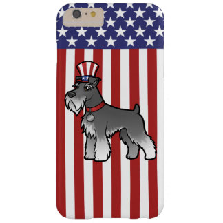 Add Your Own Pet and Flag Barely There iPhone 6 Plus Case