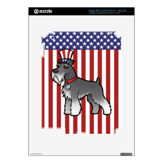 Add Your Own Pet and Flag iPad 3 Skin