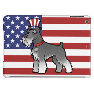 Add Your Own Pet and Flag iPad Air Cases