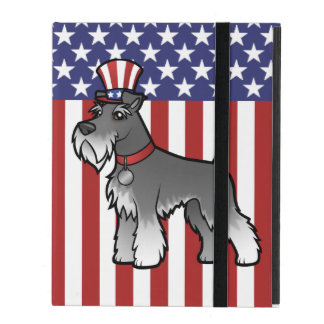 Add Your Own Pet and Flag iPad Case