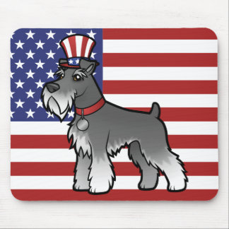 Add Your Own Pet and Flag Mouse Pad