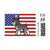 Add Your Own Pet and Flag Postage
