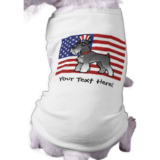 Add Your Own Pet and Flag T-Shirt