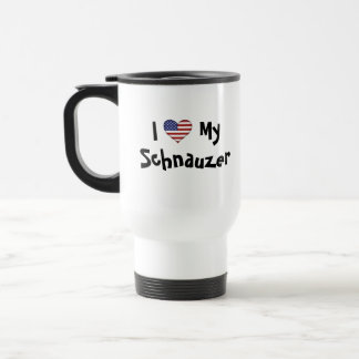 Add Your Own Pet and Flag Travel Mug