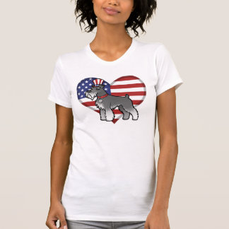 Add Your Own Pet and Flag Tshirts