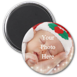 Add your own photo 2 inch round magnet