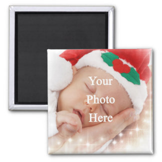 Add your own photo 2 inch square magnet