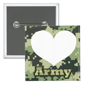 Add Your Own Photo Army Heart Button