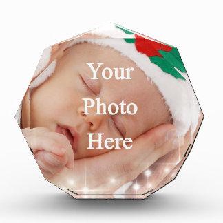 Add your own photo acrylic award