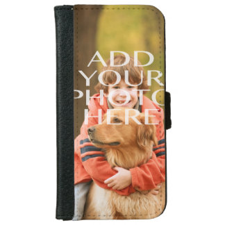 Add Your Own Photo Custom Personalized iPhone 6 Wallet Case