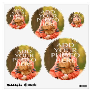 Add Your Own Photo Custom Personalized Wall Decals