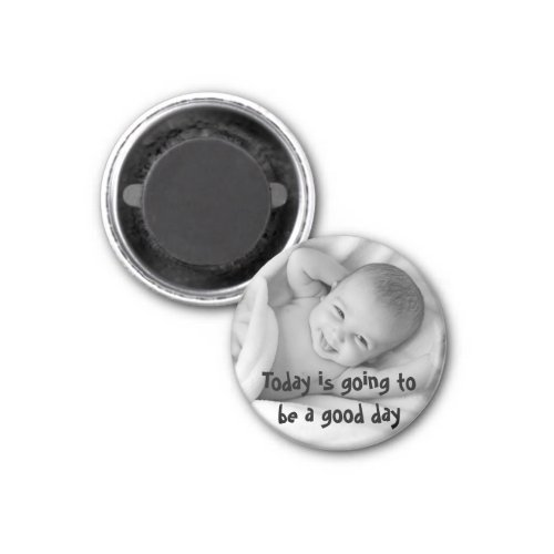 Add Your Own Photo Cute Quote Personalised Magnet