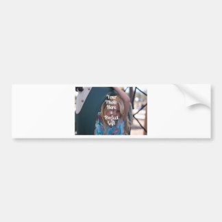 ADD YOUR OWN PHOTO EASY UPLOAD GIFT Mother's Day Bumper Stickers