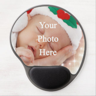 Add your own photo gel mouse pad