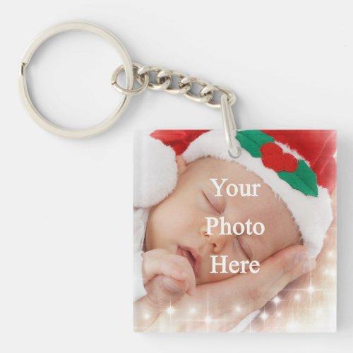 Add your own photo keychain