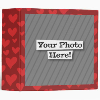 Add Your Own Photo & Pattern 3 Ring Binder