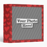 Add Your Own Photo & Pattern Binders
