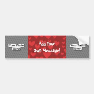 Add Your Own Photo & Pattern Bumper Sticker