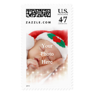 Add your own photo postage stamp