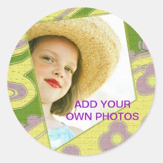 Add your own photo sticker