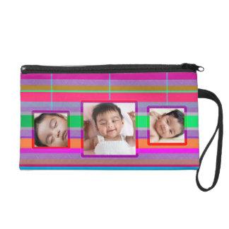 Add Your Own Photos Frames Stripes Bagettes Bag