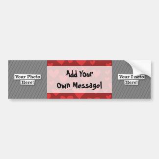Add Your Own Photos & Pattern Bumper Sticker