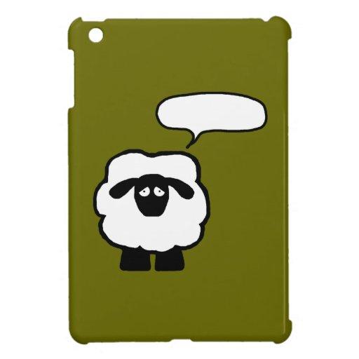 Add Your Own Phrase Sheep iPad Mini Case