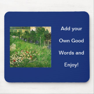 Add your own picture and words mouse pad