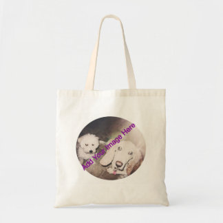Add Your Own Picture Tote Budget Tote Bag