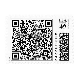 Add your own QR code Postage Stamps