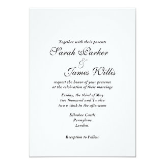 Add your own ribbon Invites