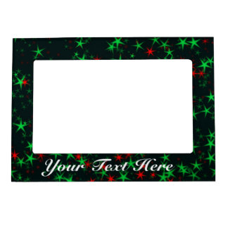 Add Your Own Text, Christmas Stars Picture Frame