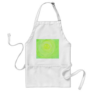 Add your own text - green glow adult apron
