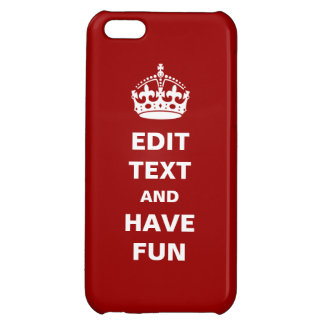 Add your own text here! iPhone 5C case