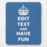 Add your own text here! mouse pad