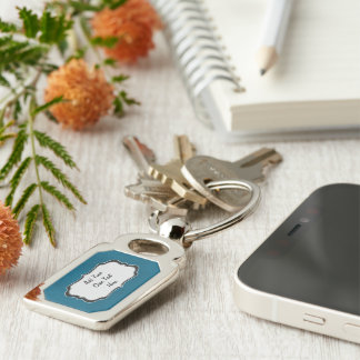 Add Your Own Text Here Keychain
