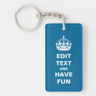 Add Your Own Text Keychain