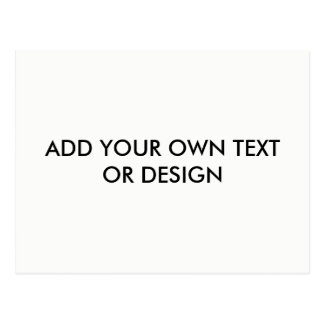 Add your own text or design, Customize Postcard