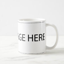 Add your own Text or Logo Coffee Mug