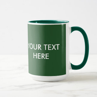 ADD YOUR OWN TEXT & PHOTO MUG