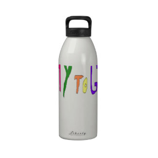 Add YOUR OWN Text Sayings Drinking Bottle
