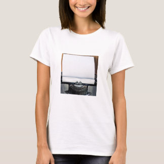 Add Your Own Text to the Typewriter Paper T-Shirt