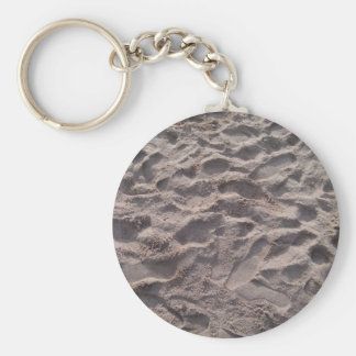 Add your own text, writing in sand, sunny beach keychain